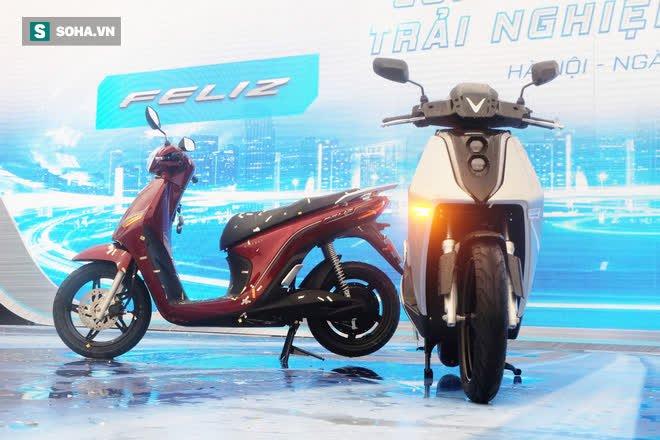 Ảnh hot xe máy điện Vinfast Theon: cùng kích cỡ Honda SH, tốc độ tối đa 90km/h - Ảnh 12.