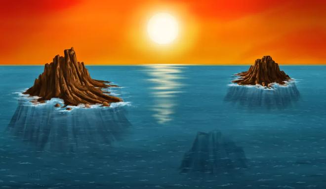 Phát hiện hòn đảo mất tích - nơi sự sống Trái Đất đầu tiên ra đời - Ảnh 1.