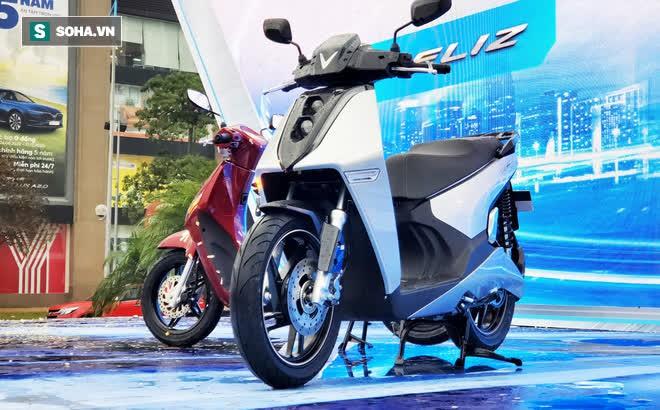 Ảnh hot xe máy điện Vinfast Theon: cùng kích cỡ Honda SH, tốc độ tối đa 90km/h - Ảnh 2.
