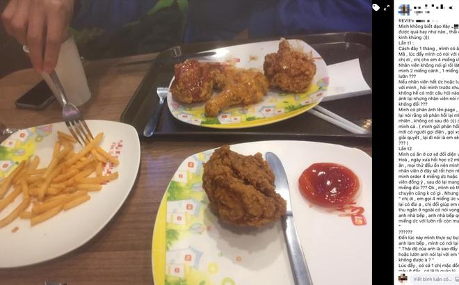 """Chuỗi nhà hàng gà rán nổi tiếng ở Hà Nội liên tiếp bị tố thái độ phục vụ """"tệ kinh khủng"""" của nhân viên, nói bậy khi đáp lời khách, mặt """"đâm lê"""", """"xưng xỉa"""""""