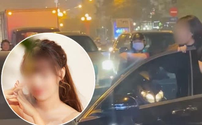 Người vợ chặn xe Mercedes của 'tiểu tam' giữa phố Hà Nội lên tiếng: Chồng tôi muốn dứt thì cô ấy lại khóc lóc, quỳ xuống