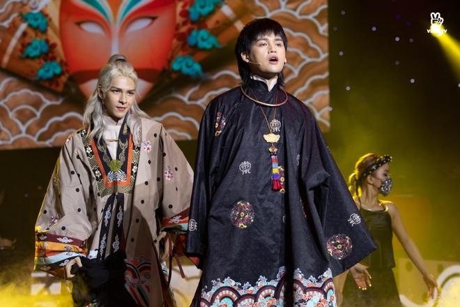 Noo Phước Thịnh, Thủy Tiên, Đức Phúc làm bùng nổ sân khấu lễ trao giải âm nhạc - Ảnh 6.