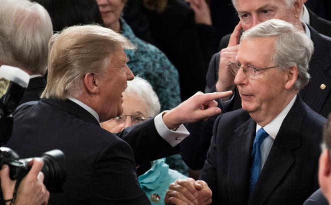 Hé lộ sự ủng hộ cho Trump và hậu quả đáng sợ với đảng Cộng hòa nếu luận tội Tổng thống