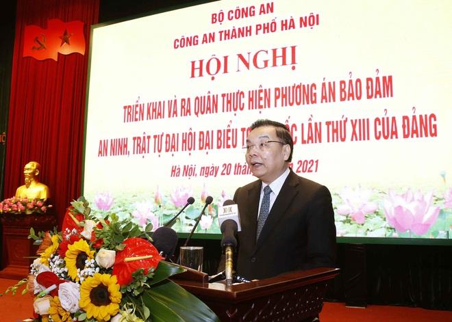 Hà Nội triển khai xe chống đạn và dàn mô tô đặc chủng bảo đảm an ninh, trật tự Đại hội XIII của Đảng - Ảnh 2.