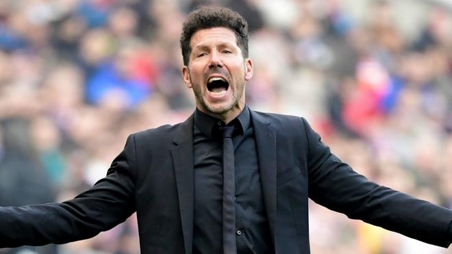 Atletico Madrid mong muốn cùng HLV Simeone tạo nên kỷ lục của bóng đá châu Âu - Ảnh 1.