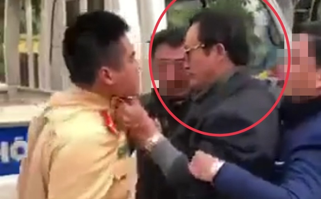 Diễn biến mới vụ Chi cục trưởng Chi cục Dân số - Kế hoạch hóa gia đình Tuyên Quang túm cổ áo CSGT