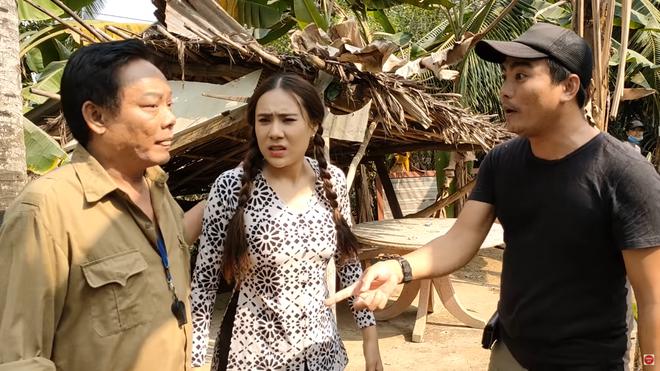 Phim trường gặp sự cố, Hồ Bích Trâm tố nghệ sĩ Tấn Hoàng chỉ lo quay Youtube câu view - Ảnh 3.