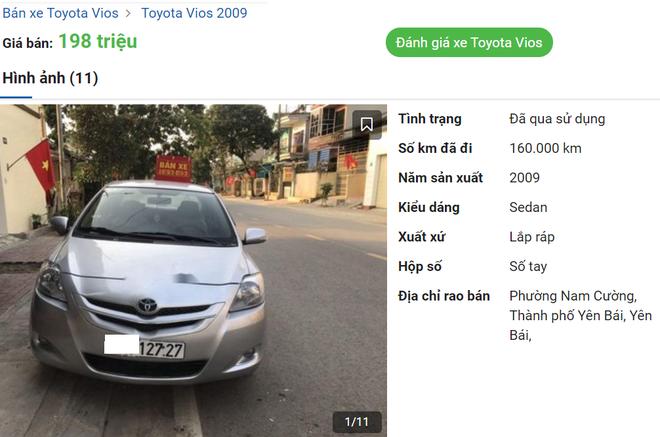 """Hàng nóng"""" Toyota Vios bán rẻ 155 triệu đồng gây xôn xao - Ảnh 2."""