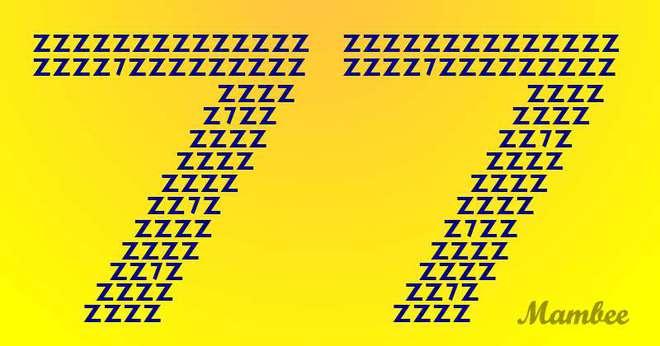 Thách thức thị giác: Đố bạn tìm ra chính xác 10 con số 7 trong vòng 8 giây! - Ảnh 1.