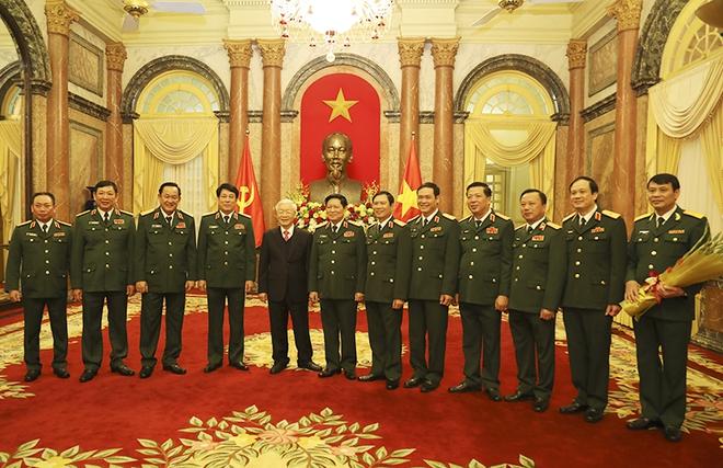 Hai Thứ trưởng Bộ Quốc phòng đượcTổng Bí thư, Chủ tịch nước thăng quân hàm Thượng tướng - Ảnh 2.