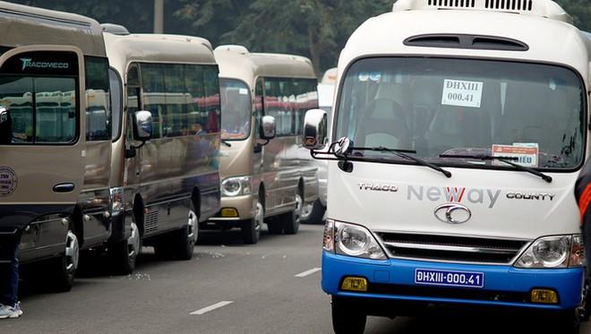 Cảnh khuyển tham gia rà soát xe phục vụ Đại hội XIII - Ảnh 1.