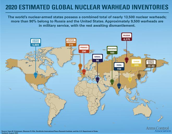 Nam Phi - Quốc gia duy nhất từ bỏ vũ khí hạt nhân của mình - Ảnh 2.