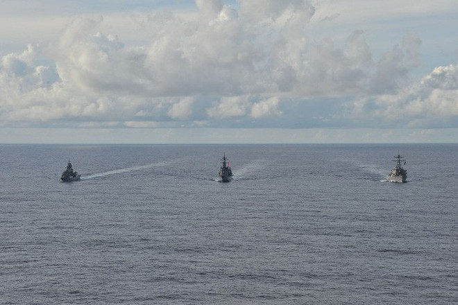 Biển Đông: Nhật Bản gia tăng sức ép lên Trung Quốc - ảnh 1