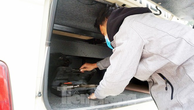 Cảnh khuyển tham gia rà soát xe phục vụ Đại hội XIII - Ảnh 9.