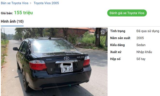 """Hàng nóng"""" Toyota Vios bán rẻ 155 triệu đồng gây xôn xao - Ảnh 1."""