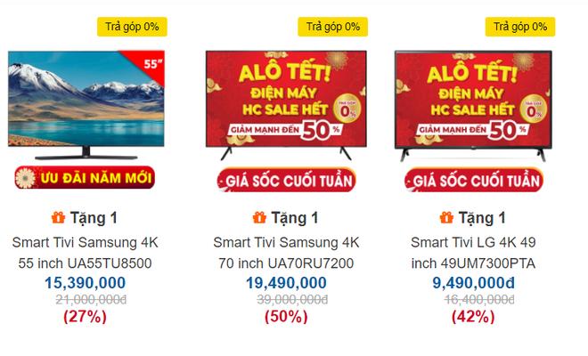 Tân trang nhà đón Tết với 5 mẫu tivi 4K sang chảnh giảm giá sốc 50%, có mẫu bay 20 triệu - Ảnh 1.