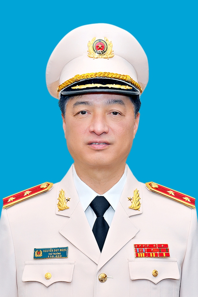 Thứ trưởng Bộ Công an Nguyễn Duy Ngọc được thăng hàm Trung tướng - Ảnh 1.