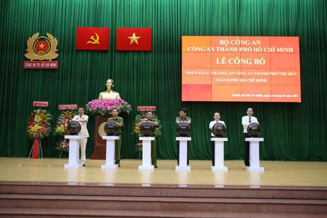 Đại tá Nguyễn Hoàng Thắng giữ chức trưởng Công an TP Thủ Đức  - Ảnh 3.
