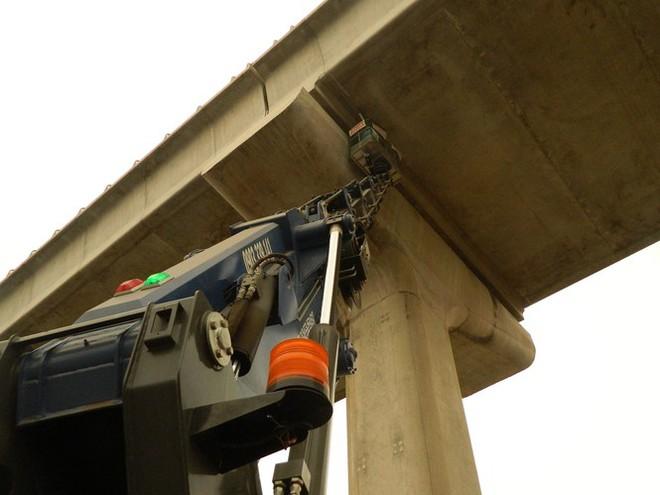 Nguyên nhân gối cao su tại tuyến metro Bến Thành – Suối Tiên bị rớt - Ảnh 2.