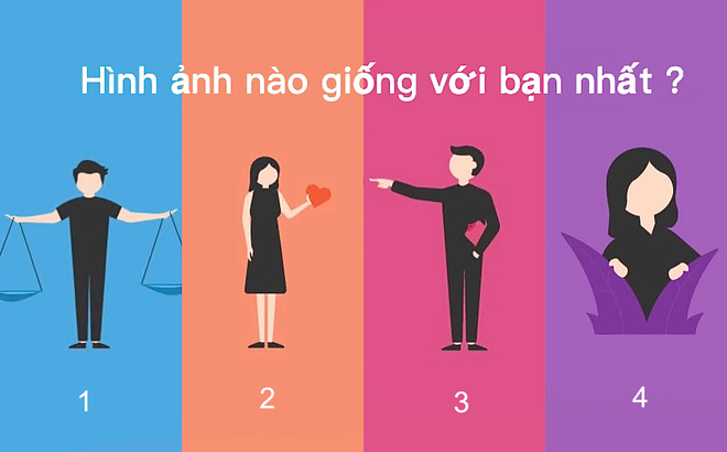 Trong 4 kiểu tính cách cơ bản, bạn thuộc loại nào? Số 3 sẽ khiến bạn bất ngờ
