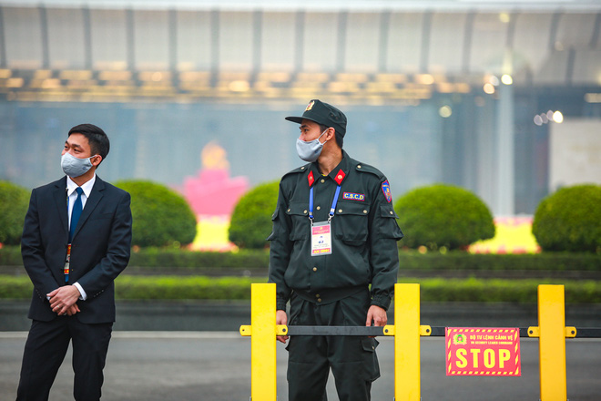 Thắt chặt an ninh để đảm bảo an toàn cho Đại hội XIII của Đảng - Ảnh 3.