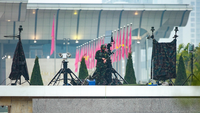 Thắt chặt an ninh để đảm bảo an toàn cho Đại hội XIII của Đảng - Ảnh 5.