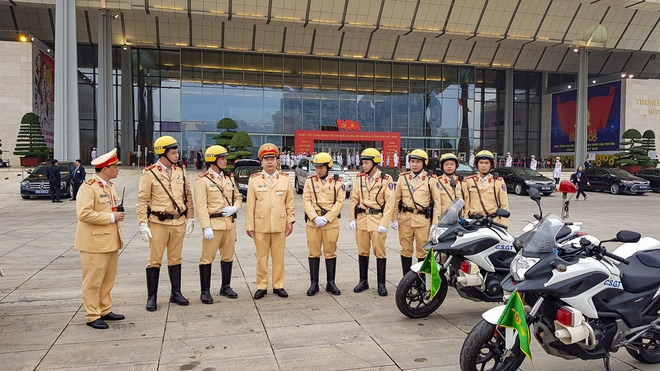 Thắt chặt an ninh để đảm bảo an toàn cho Đại hội XIII của Đảng - Ảnh 7.