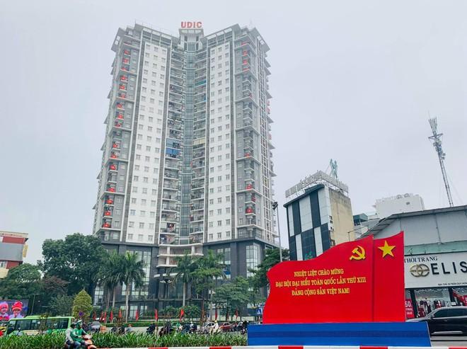 Ngõ, phố Thủ đô thắm sắc cờ chào mừng Đại hội lần thứ XIII của Đảng - Ảnh 7.