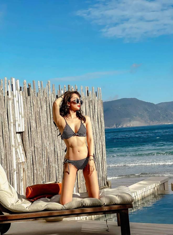 Quỳnh Nga tung ảnh bikini nóng bỏng, đáng chú ý nhất là bình luận của Việt Anh - Ảnh 3.