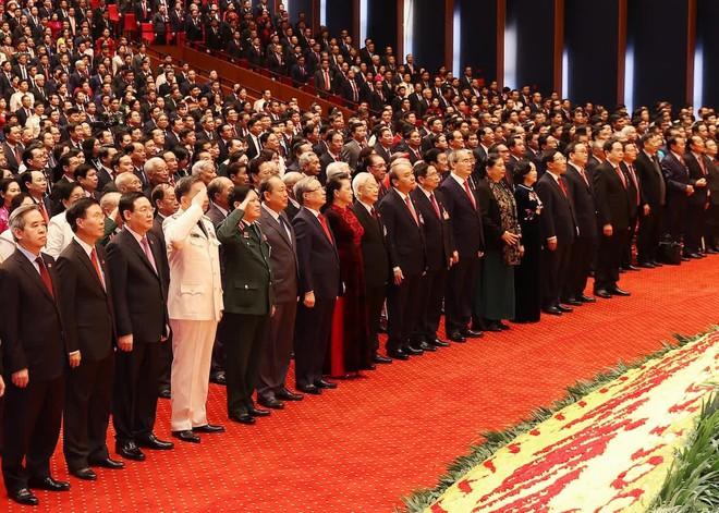 Khai mạc Đại hội lần thứ XIII của Đảng với 1.587 đại biểu chính thức tham dự - Ảnh 1.