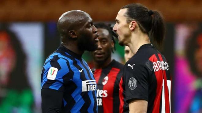 Ibrahimovic nhận thẻ đỏ, AC Milan thất thủ trước Inter Milan - Ảnh 1.