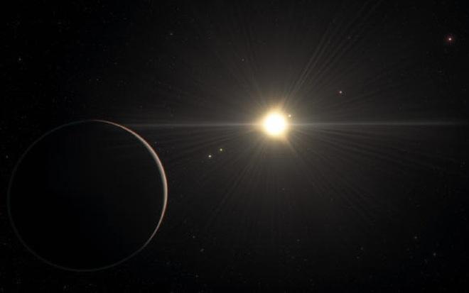 Kinh ngạc hệ mặt trời đẹp nhất vũ trụ, có hành tinh giống Trái Đất - Ảnh 1.