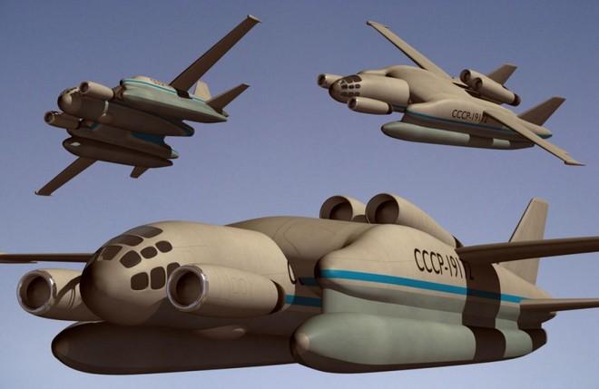 Máy bay quái vật rồng 3 đầu của Liên Xô: Vì sao nửa thế kỷ không một lần cất cánh? - Ảnh 1.