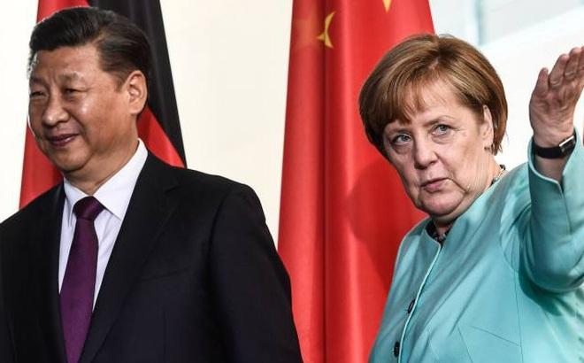 """Bất ngờ nhắc tới ông Tập tại WEF: Bà Merkel ủng hộ TQ nhưng quyết """"không tha"""" các lo ngại"""