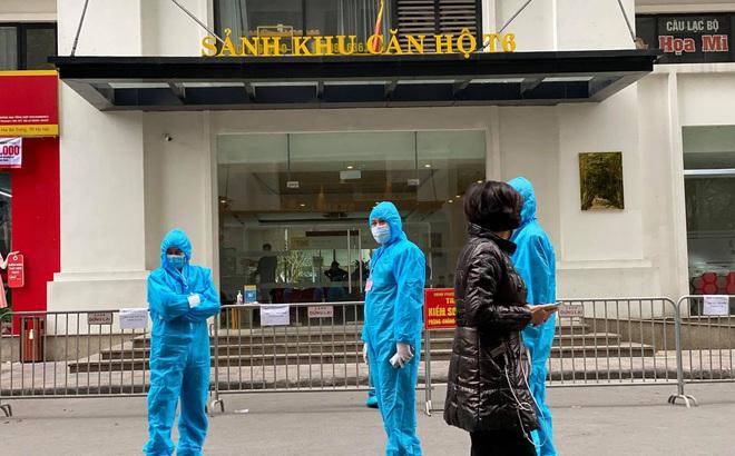 Hà Nội: 7 trường hợp F1 của ca dương tính SARS-CoV-2 ở Nguyễn Khánh Toàn có kết quả âm tính lần 1