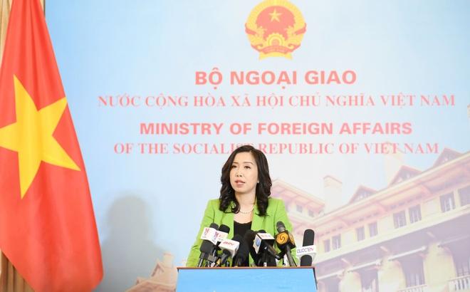 Việt Nam lên tiếng việc Trung Quốc thông qua luật cho phép hải cảnh sử dụng vũ khí