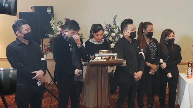 Rơi nước mắt cảnh Hàn Thái Tú bật clip con gái Vân Quang Long hát tiễn biệt cha lần cuối - Ảnh 3.