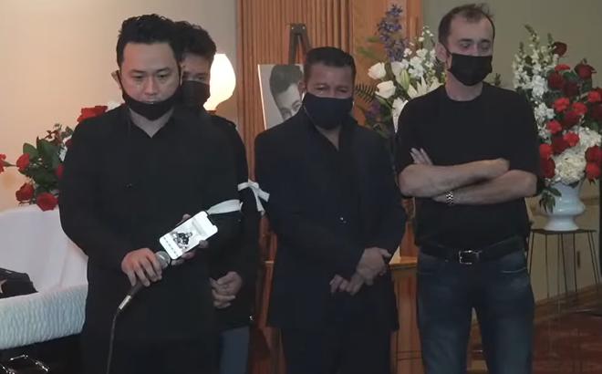 Rơi nước mắt cảnh Hàn Thái Tú bật clip con gái Vân Quang Long hát tiễn biệt cha lần cuối