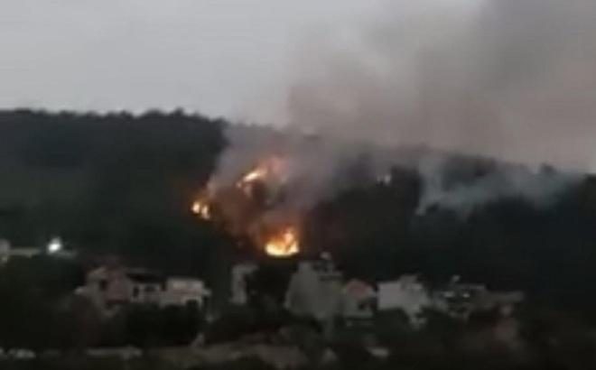 200 người tham gia chữa cháy rừng tại Hạ Long