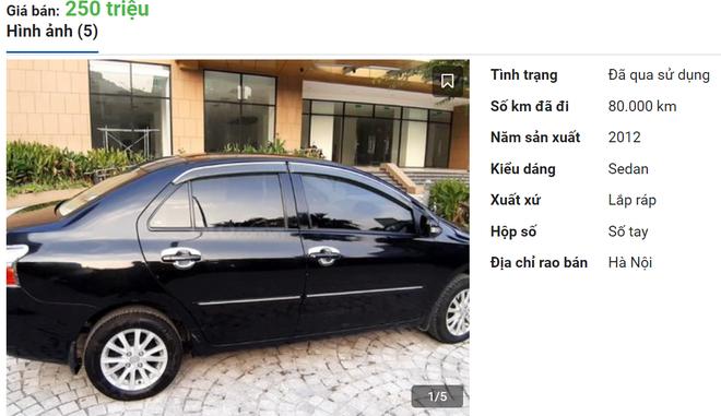 """Toyota Vios """"mở bát"""" bán rẻ đầu năm, giá chỉ 250 triệu đồng - Ảnh 1."""