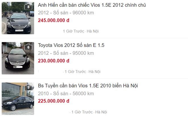 """Toyota Vios """"mở bát"""" bán rẻ đầu năm, giá chỉ 250 triệu đồng - Ảnh 3."""