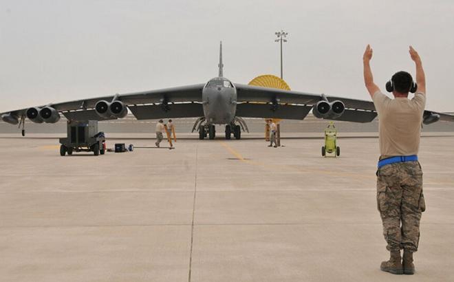 Mỹ đưa oanh tạc cơ B-52 trở lại đảo Guam thực hiện nhiệm vụ răn đe