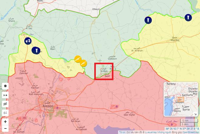 Chiến sự Syria: Quân Nga thẳng tiến đến al-Bab, lực lượng Thổ tuyệt vọng tìm viện binh? - Ảnh 1.