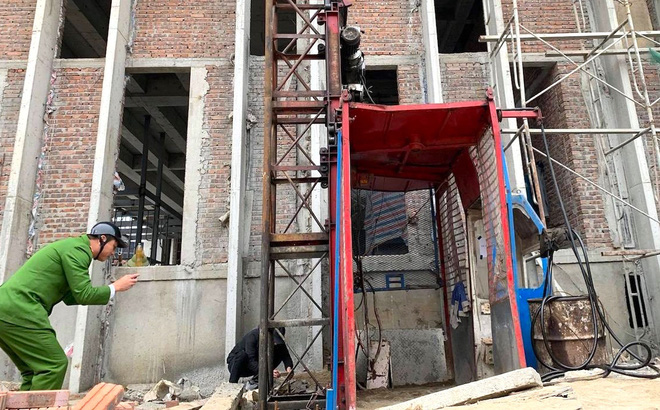 Tai nạn rơi thang công trình trụ sở Sở Tài Chính Nghệ An làm 3 người tử vong: Đình chỉ thi công