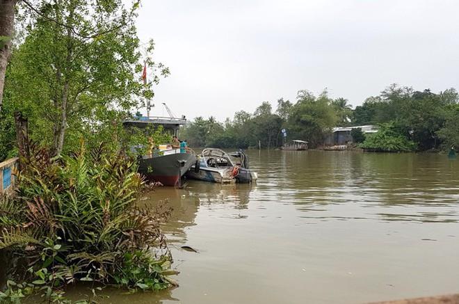 Một cảnh sát mất tích trên sông Hậu khi làm nhiệm vụ - Ảnh 1.
