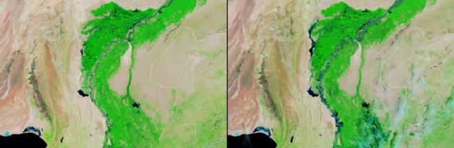 NASA công bố loạt bức ảnh gây sốc về Trái Đất - Ảnh 1.