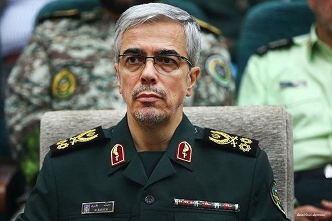 Iran đặt tay lên nút bấm, hàng trăm UAV xuất kích: Cảnh báo Mỹ cực nóng, quả bom chiến tranh xì khói - Ảnh 1.