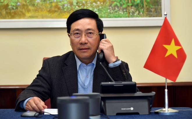 Bộ trưởng Ngoại giao Việt - Mỹ điện đàm về việc Mỹ điều tra chính sách tiền tệ của VN