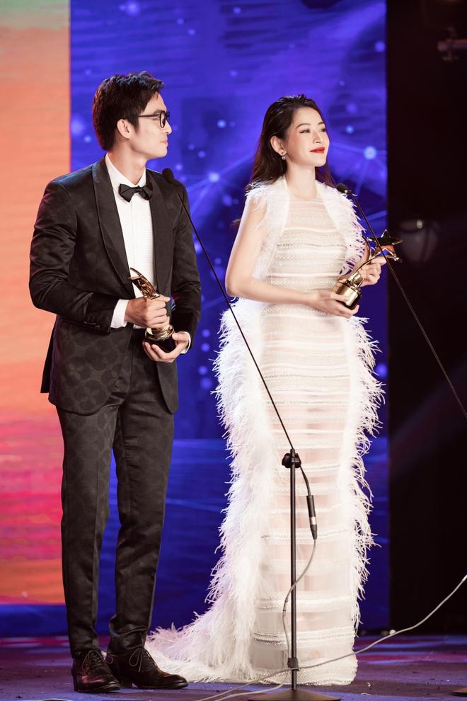 Chi Pu xúc động khi thắng giải Nữ diễn viên được yêu thích nhất - Ảnh 7.