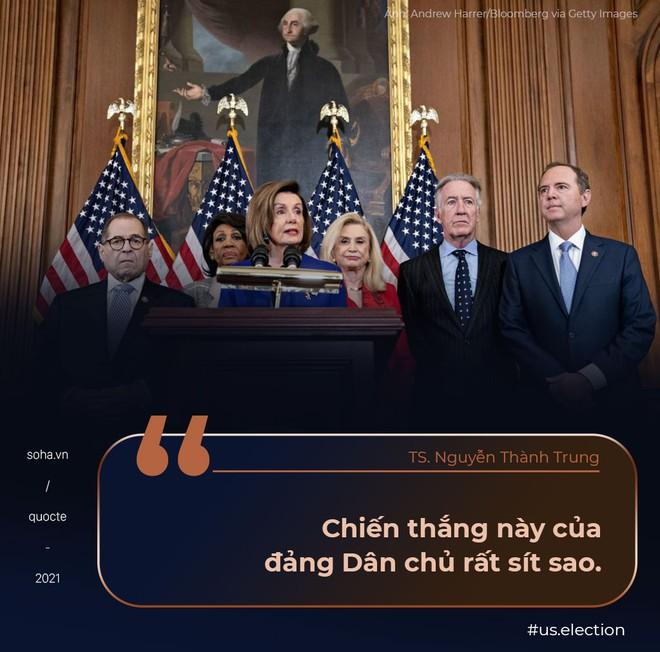 Bức thư của ông Pence, chiến thắng mong manh của đảng Dân chủ, và tương lai nước Mỹ sau ngày 6/1 máu lửa - Ảnh 2.